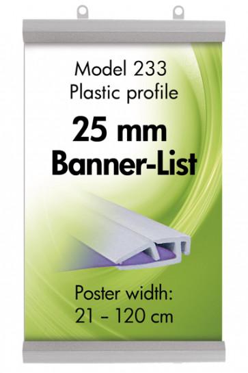 POSTER GRIP PLASTIC A2 - 42cm sæt