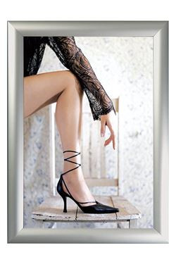 Alu Snap Frame, (G) 100x270 cm