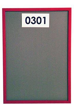 ALU SNAP FRAME vægramme (G) 32mm - 70x100cm - rød